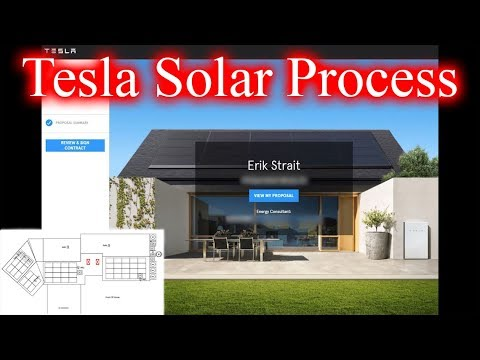 Tesla Solar Process; Site Survey & System Design. Episode 1