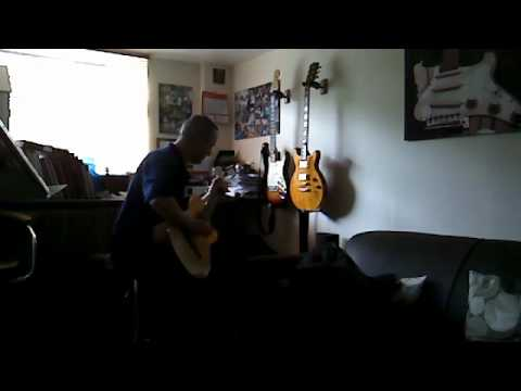 Waltz In Black By The Stranglers on Classical Guitar by Paul Rickett.