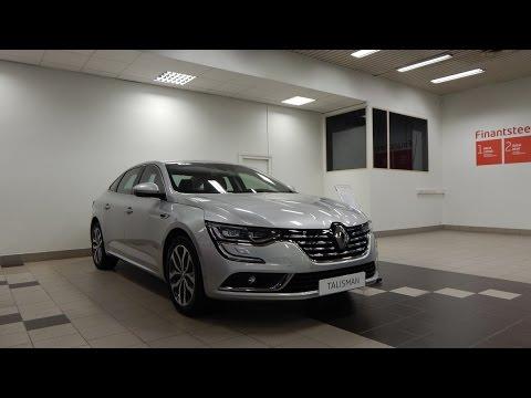 Renault TALISMAN 1.6 DCI (дизель) 130 л.с. 6АТ 2017:дорогая евроиномарка снаружи круто,а внутри