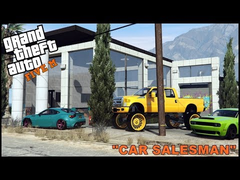 GTA 5 ROLEPLAY - SELLING HALF MILLION DOLLAR'S WORTH OF CARS