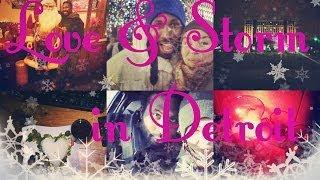 Жизнь в США: Привет из ДЕТРОЙТА на Новый 2014 год/ШТОРМОВОЕ ПРЕДУПРЕЖДЕНИЕ на Севере США