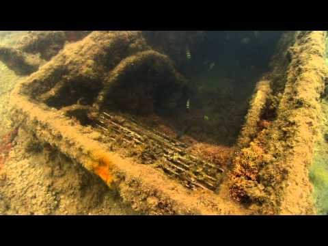 Underwater View of the USS Arizona
