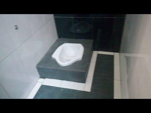 kamar mandi minimalis sederhana lahan super sempit  (1×1.5)meter - small bathroom