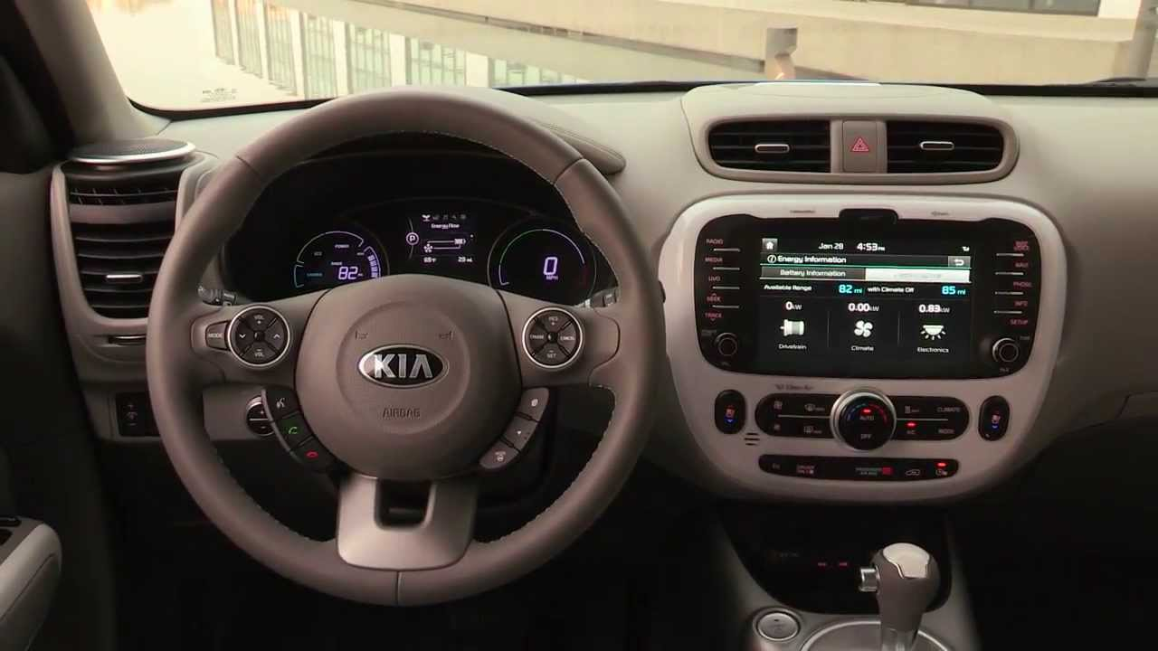 Amazing 2015 Kia Soul EV Interior   YouTube Awesome Ideas