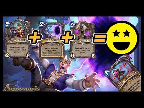 Quest Warlock With Plot Twist! Saviors Of Uldum Hearthstone