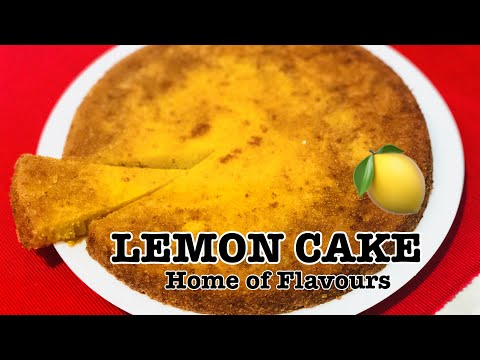 Lemon Cake Recipe || Easy Moist Lemon Cake
