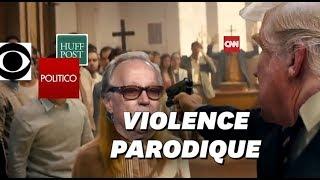 Une vidéo montrant Donald Trump mettant à mort les médias dans une église indigne