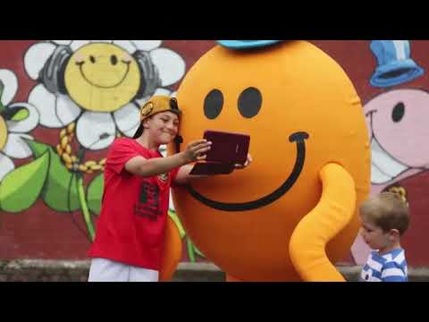 Upfest 2016 - Bristol street art festival x Mr. Men Little Miss x CHEO