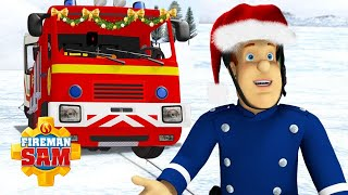 Santa Overboard! 🎅🎄 Fireman Sam US | Holiday Fun with Sam | Cartoons for Kids
