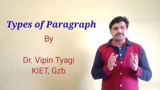 Paragraph Types: Descriptive, Narrative, Expository