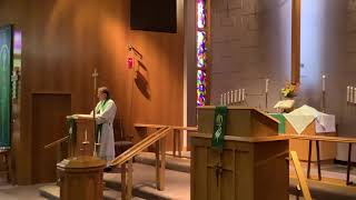 16th Sunday after Pentecost, Good Shepherd Lutheran Church, LC-MS, Two Rivers, WI, Rev William Kilps