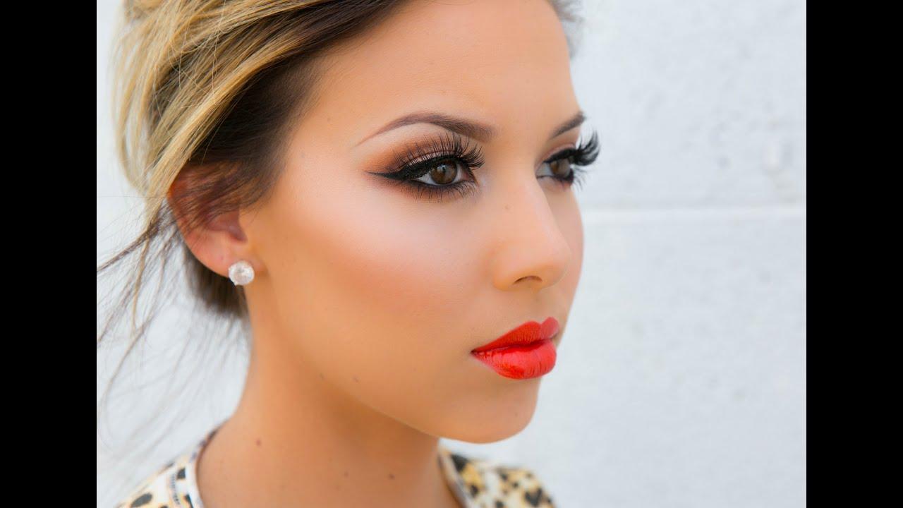 Amrezy Palette Tutorial+ Summer Lips! - YouTube