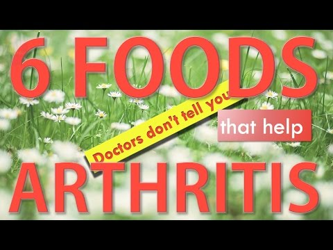 6 foods that Reduce arthritis and inflammatory pain