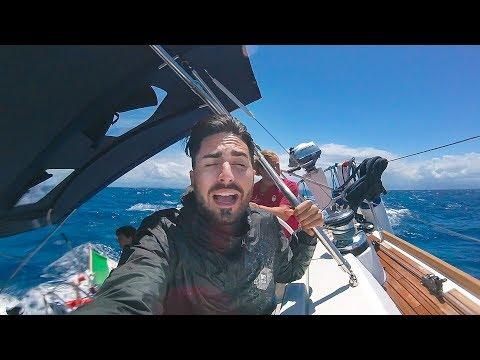 Il mare in TEMPESTA non ci FERMERÀ! - #DwYachtWeek - Salina 1/3