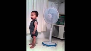 扇風機動画 奇妙な動画こども おもしろ動画こども おバカ動画こども thumbnail