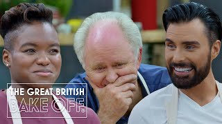 Mindblowing Celeb Bake Off creations from John Lithgow, James Acaster, Nicola Adams, Rylan & more!
