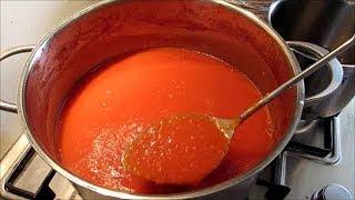 Домашний кетчуп на зиму Просто и Вкусно