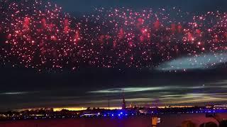 Алые паруса 2019 в Санкт-Петербурге. (Пиротехническое шоу)