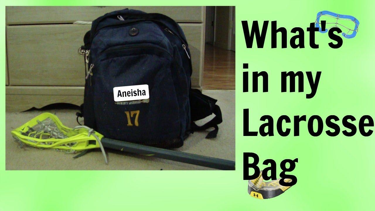What S In My Lacrosse Bag