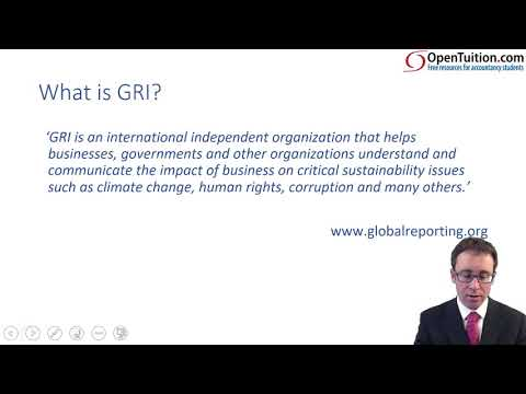 CIMA F3 Sustainability (GRI)