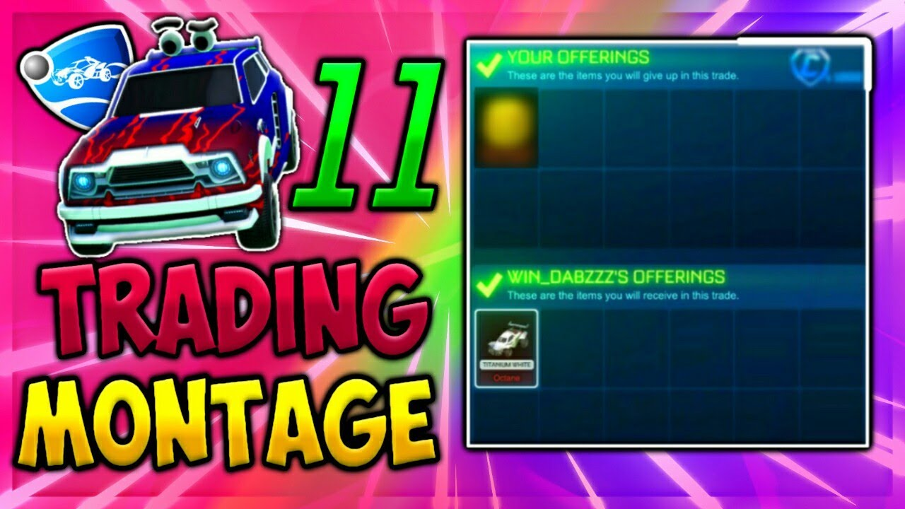 rocket league trading youtube