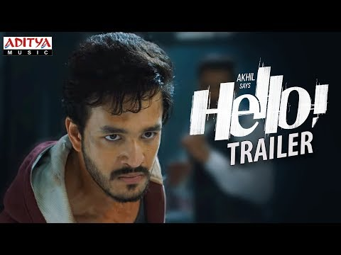 HELLO! Trailer    Akhil Akkineni, Kalyani Priyadarshan II Vikram K Kumar II Akkineni Nagarjuna