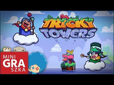 Tricky Towers PL - miniGRAszka z KO-OPa! | Tetris z fizyką