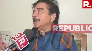 Bihar Congress Candidate Shatrughan Sinha Speaks Exclusively To Republic TV | #ArnabOnMay23
