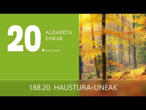 188. 20.  HAUSTURA-UNEAK