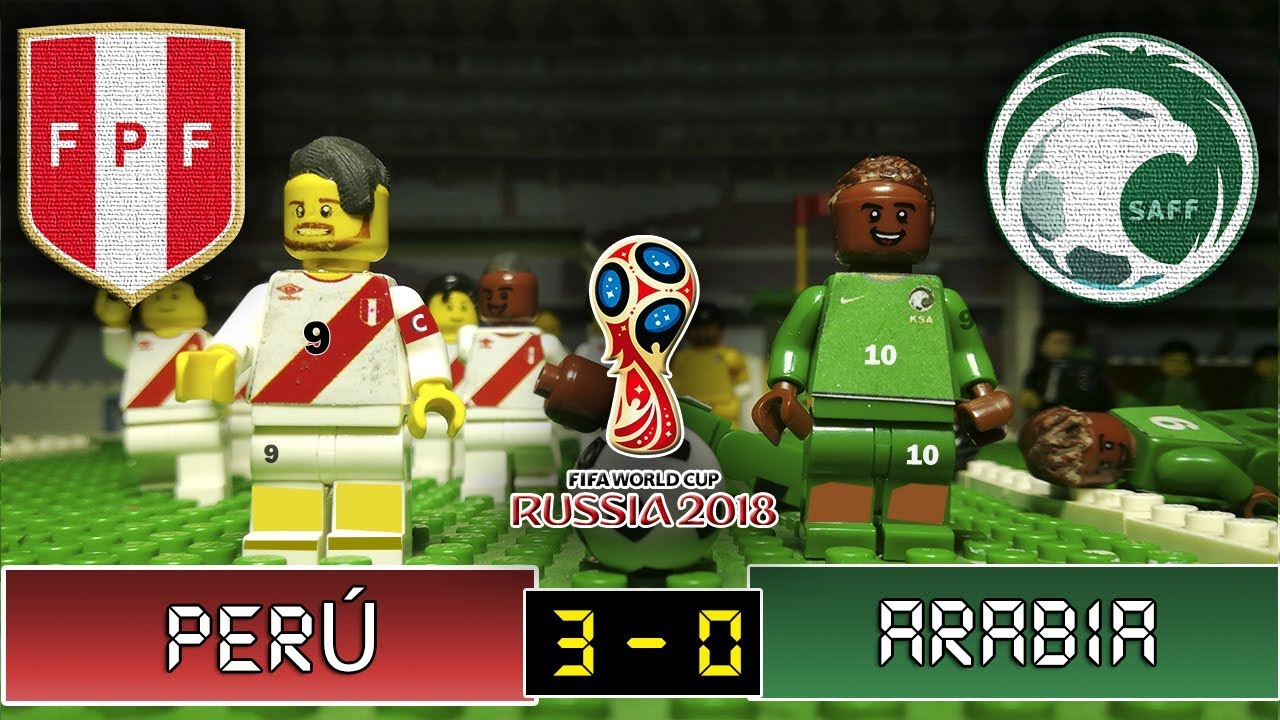 Motion Internacional 0 Saudita Arabia 3 03062018 Lego Perú Stop Fútbol Amistoso rtCshoQxBd
