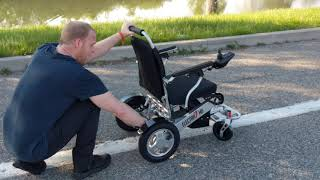 Electra7 Wide Lightweight Folding Power Wheelchair Extended Review