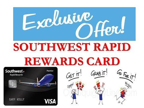 Best Airline Miles Credit Card - Chase Southwest Rapid Rewards® Premier Card