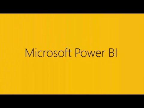 Microsoft Power BI in 60 Seconds