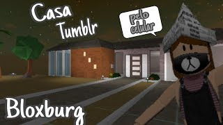 ROBLOX-building My Tumblr home in Bloxburg