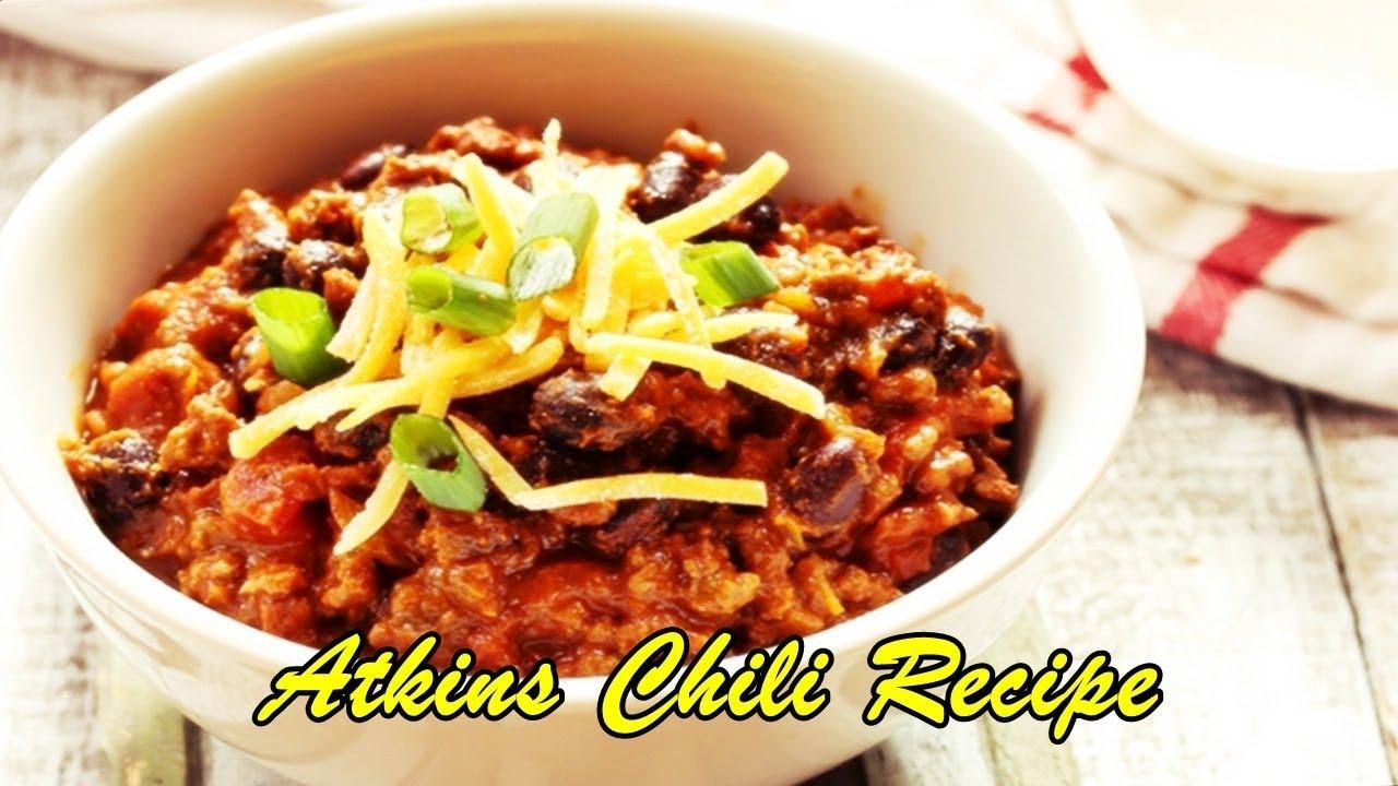 Atkins Chili Recipe Youtube