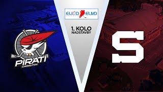 1. kolo nasdstavby Eliod ELMD: Piráti Chomutov vs HC Sparta Praha