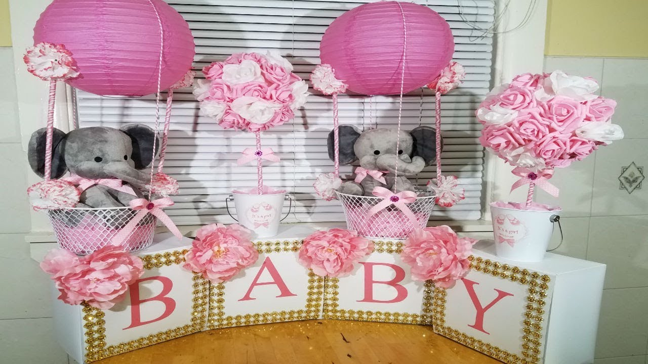 Baby Shower Ideas For Girls Youtube