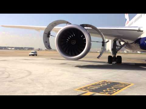 Boeing 787-8 Trent 1000 Engine Start