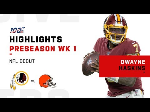 Every Dwayne Haskins Snap in NFL Debut | 2019 Highlights