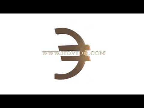 Rotating euro symbol (Master Resale Rights)