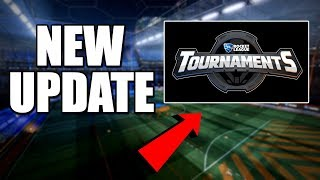 NEW TOURNAMENTS UPDATE! | 2v2 Hoops (Rocket League Gameplay)