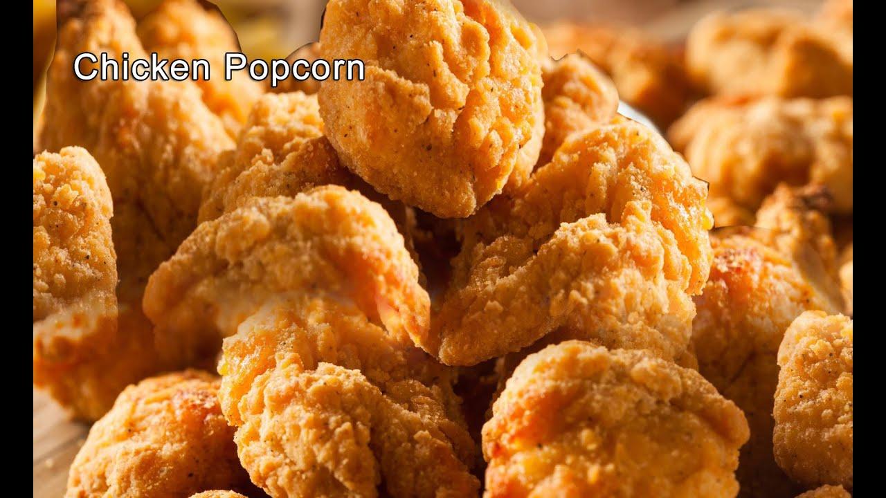Chicken Popcorn Recipe / Popcorn chicken - KFC style ...