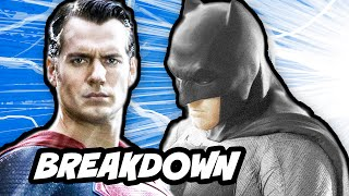 Batman VS Superman Trailer Breakdown - Comic Con 2014
