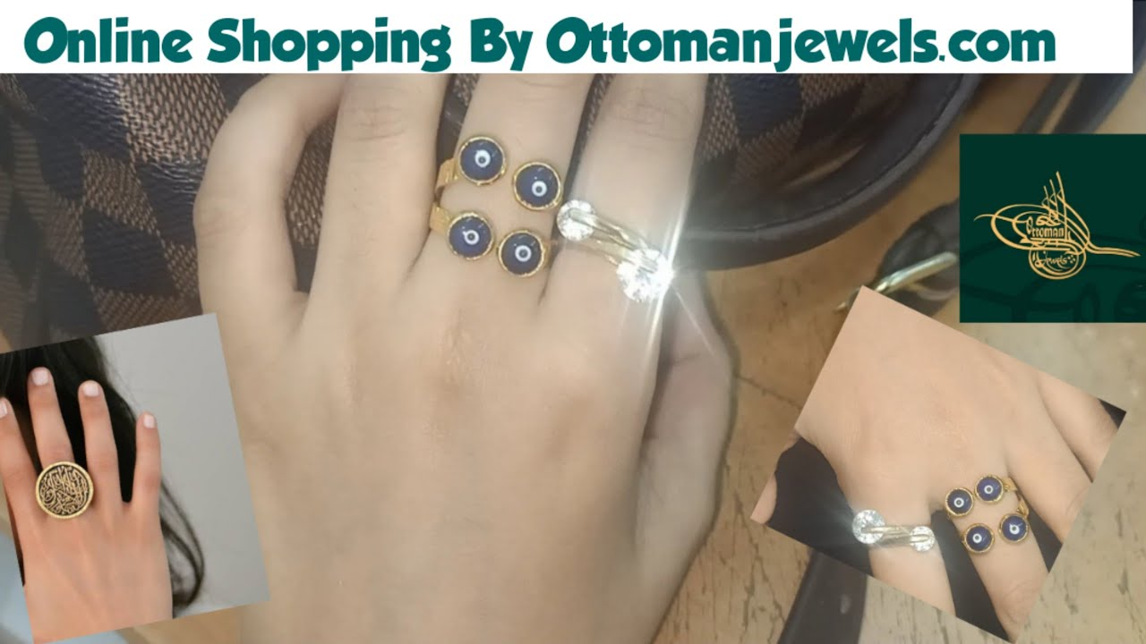Ottoman Jewels Aurora Ring ~ Turkish Jewellery    Online Shopping, Price & Quality