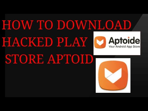 How to download aptoide APK a hacked play store  #Smartphone #Android