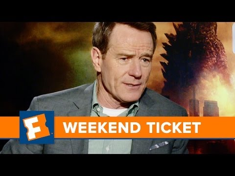 Godzilla, Million Dollar Arm, Guest - Bryan Cranston   Weekend Ticket   FandangoMovies