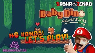 Baby Dino Adventures Gameplay (Chin & Mouse Only)