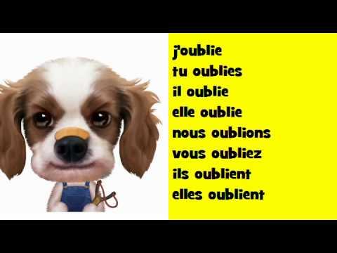 J Apprends La Conjugaison Soul Verbe Oublier Youtube