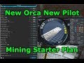 Orca Mining Plan, Build and New Pilot Plan - EVE Online