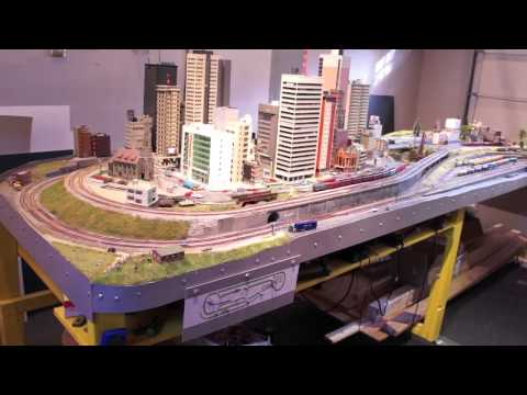 Model Railway Toy Train Track Plans -Superb N Scale Layout Tour